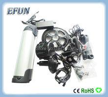 Buy DIY ebike kits 8Fun/Bafang BBS02 48V 500W mid drive motor kits 48V 14.5Ah bottle tube battery fat tire bike for $880.44 in AliExpress store