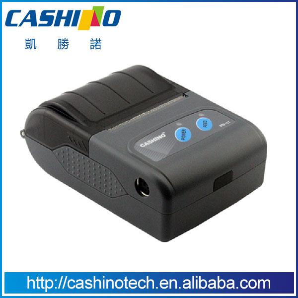 58mm Mini Handheld Thermal Printer PTP-II (Case 1:no bluetooth,no battery) Mobile phone printer(China (Mainland))