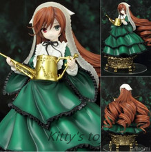 Japanese Anime Rozen Maiden Action Figure Jade Stern Doll Cute Suiseiseki PVC ACGN figure Garage Kit Toys Brinquedos Anime 14cm
