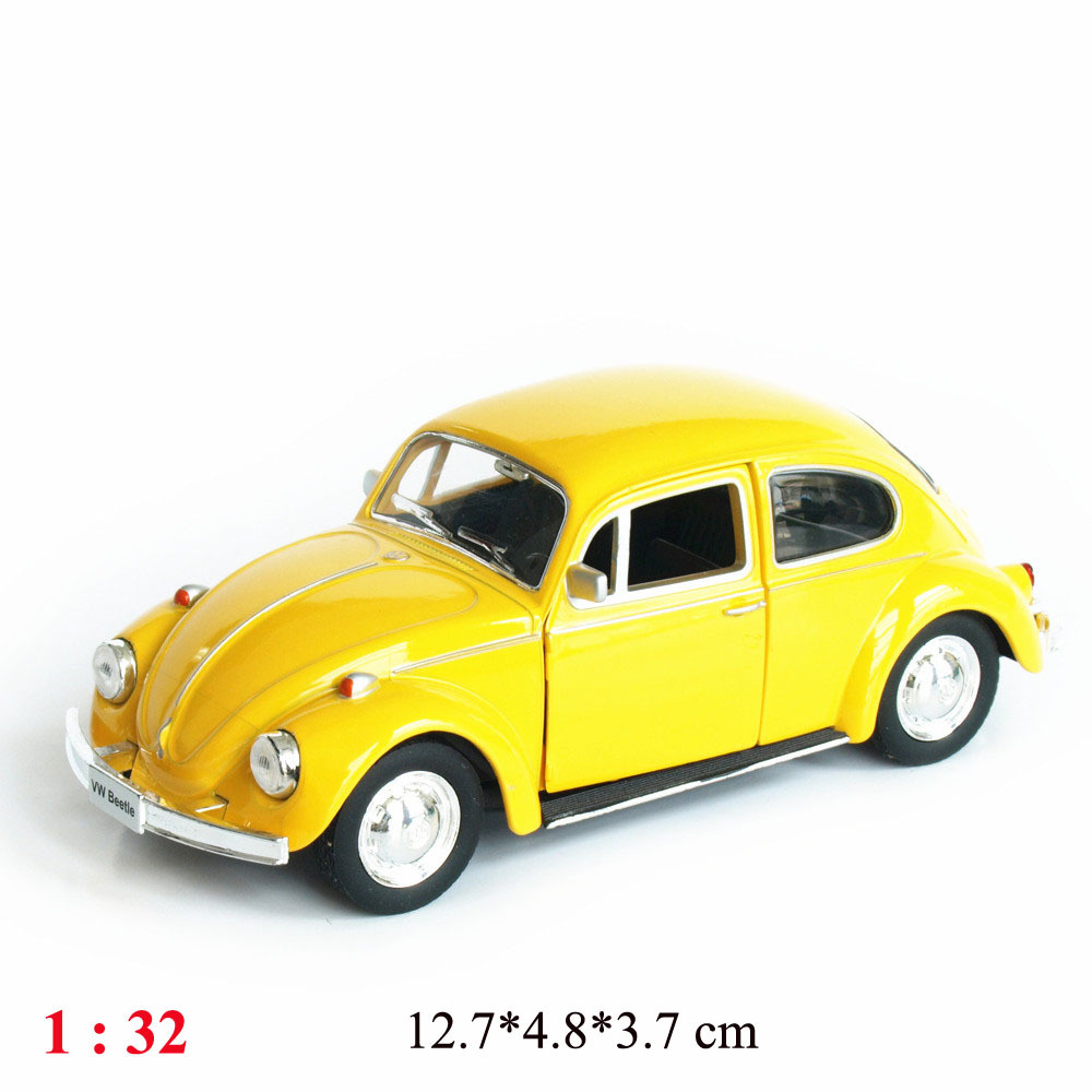 1:32 alloy car models decorated children's toys alloy pull back toy car model retro classic cars free shipping(China (Mainland))