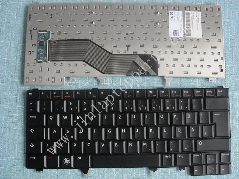 New Laptop Geman GR Layout Keyboard For DELL E5420 E6220 E6320 E6420 E6430(China (Mainland))