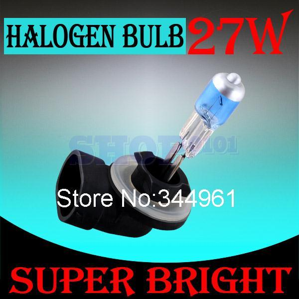 881 894 H27 Halogen Bulbs 27W super white Headlights fog lamps day light running parking 6000K