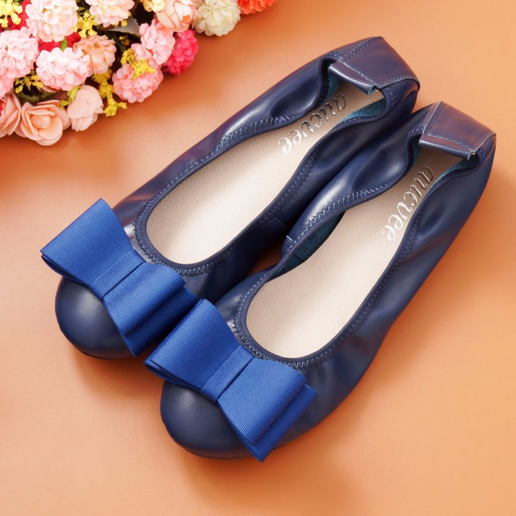 Spring and Autumn Flats for Women Flat heel Shoes Fashion bowknot Flats Women Shoes Casual Soft Comfortable Loafers Hot Sale