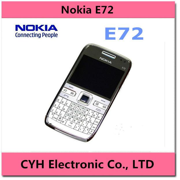 E72 Original Unlocked Nokia E72 3G network WIFI GPS 3G network 5MP camera Mobile Phone in stock(China (Mainland))