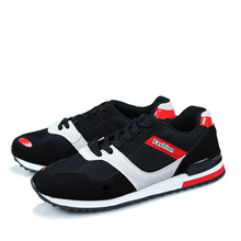 Fashion Casual Men Sneakers Men Mesh Black Sport Shoes Casual Breathable Flat Shoes chaussure home