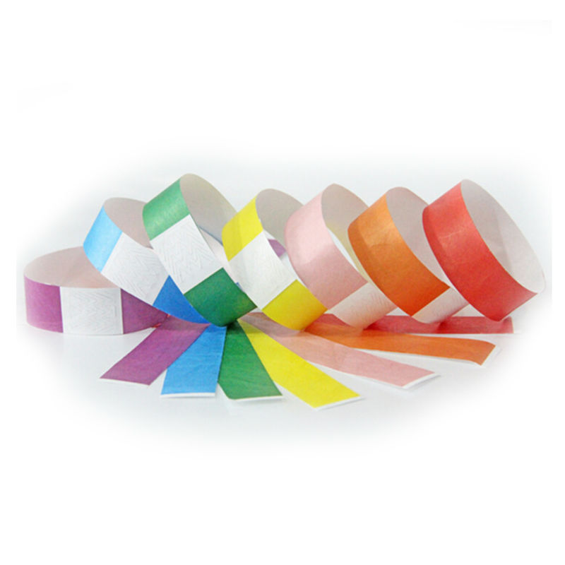 paper bracelets for events Custom printed wristbands available in silicone, tyvek, plastic or synthetic are perfect for your events, nightclubs, concerts and more.