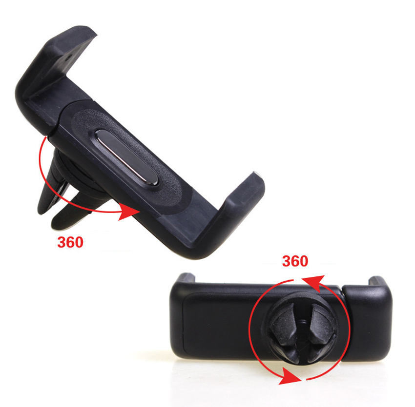 Universal car styling Mobile Phone Holders Car Air Vent Holder Mount Bracket For smartphone GPS mp3 mp4 Device call phone holder<br><br>Aliexpress