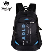 ALL OF U Fashion Casual Nylon Backpack Men Sport Travel Double-shoulder School Bags For Teenagers Women Backpack Sac a dos