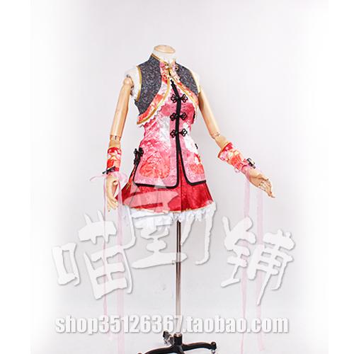 Love Live Awakening Nico Yazawa Chinese Cheongsam Cosplay Costumes Free Shipping