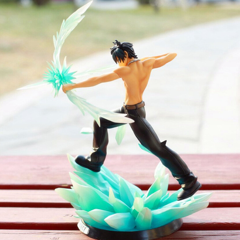 28cm Anime Fairy Tail Gray Fullbuster  Boxed PVC Action Figure Model Collection Toys<br><br>Aliexpress