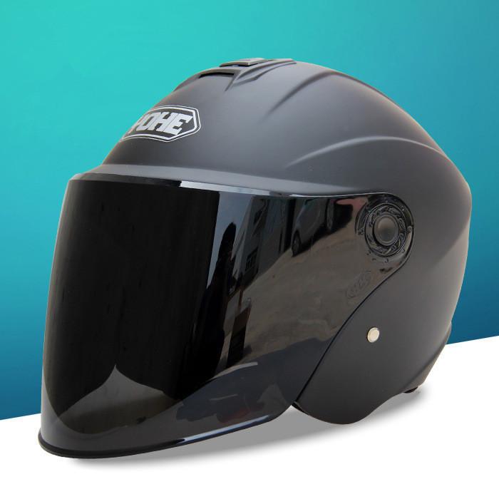 2016 New Arrive Four seasons universal motorcycle helmet, electrombile safety helmet men women half helmet open face helmets(China (Mainland))
