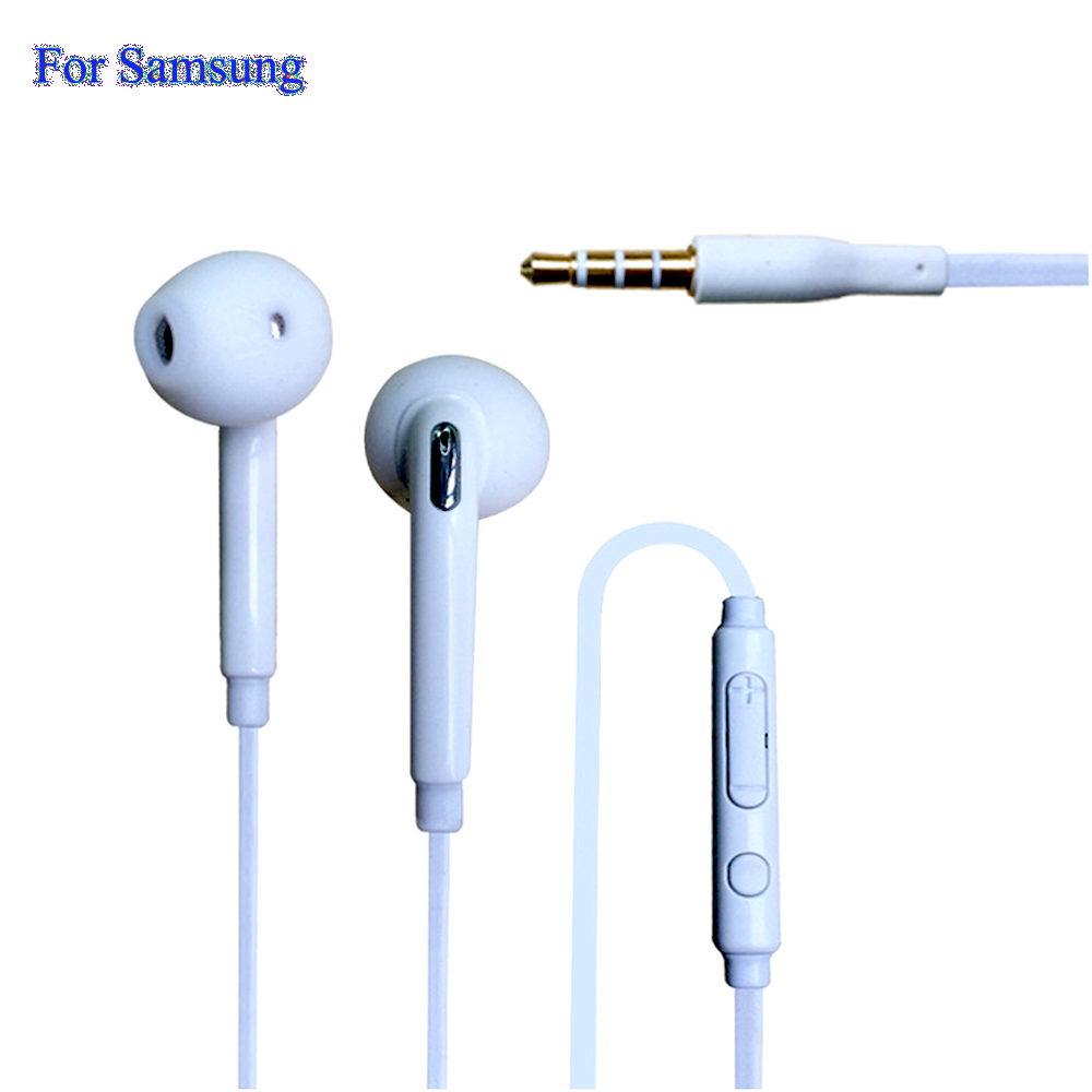 Hot General Stereo In Ear Earphones 1 Meter With Microphone For Samsung Galaxy S7 S6 S5 S4 S3 Edge G9200 Note 7 6 5 4 Phones B99(China (Mainland))