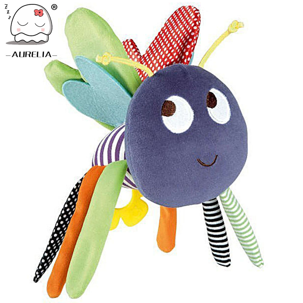 Butterfly Baby Toys 0-12 Months Plush Doll Baby Rattle Kids Mobile Hanging Bed Bell Car Stoller Brinquedos Bebes<br><br>Aliexpress