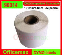 2014 Rushed Top Fasion Freeshipping 8 X Rolls Dymo for Seiko Compatible Labels 99012 99014 99017 11354 11352 99010 54mm*101mm