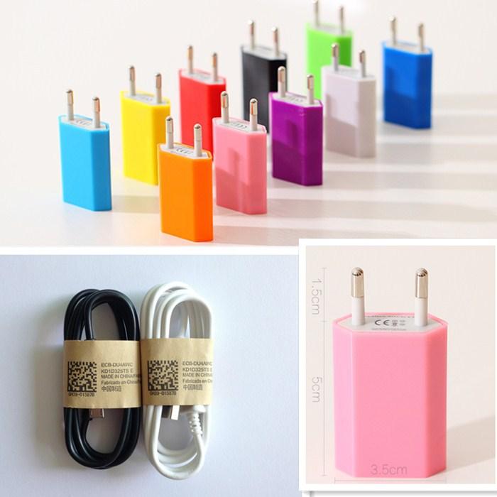 For SAMSUN cable Transform Ultra Acclaim Ace II Admire cord USB Wall Charger Adapter EU Plug Power + 1pcs Micro USB(China (Mainland))