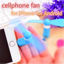 100%ผ่านการทดสอบ8ขาไมโครusbที่มีความยืดหยุ่นแฟนๆมินิสำหรับS Amsung Xiaomiโทรศัพท์A NdroidพัดลมมือสำหรับIphone 5 6 6sบวก