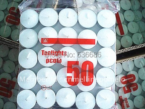 Festival tealight, candle, safety candle, xmas candle, outdoor, campling, romantic(China (Mainland))