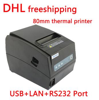 DHL freeshipping точка продажи тепловой чековый принтер XP-T260H авто резак 3 в 1 интерфейсы USB LAN Последовательный RS232 скорость 260 мм/сек.