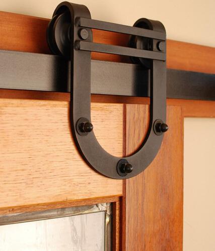 Wood Door Closet Door Interior Door Sliding Track Hardware In Doors