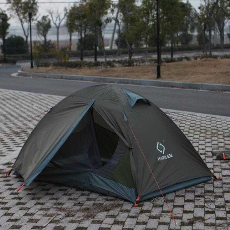 Manufacturers supply wholesale Harlem outdoor camping tent double bunk folding tent camping tents travel(China (Mainland))