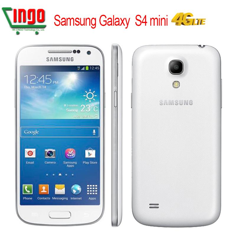 Original Unlocked S4 Mini Samsung Galaxy S4 Mini 16G ROM 4.3''HD Dual-Core CPU-1.7GHz 8MP Android 4.2 3G WIFI i9195 i9190 i9192(China (Mainland))