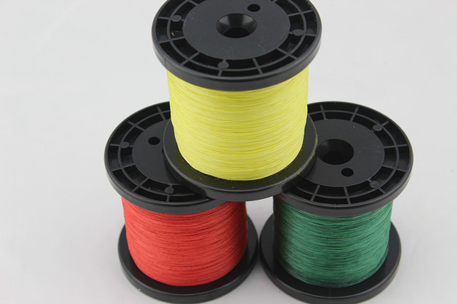 Free Shipping!1000M/piece 50LB PE Braid Fishing Line 3 Color