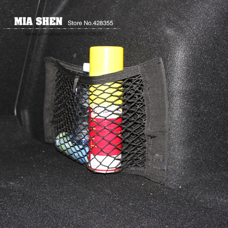 Hot Car Trunk Nylon Rope Net luggage net For Ford Focus 2 Focus 3 ST Ecosport Kuga Fiesta Ecosport Escape edge Mustang Explorer(China (Mainland))