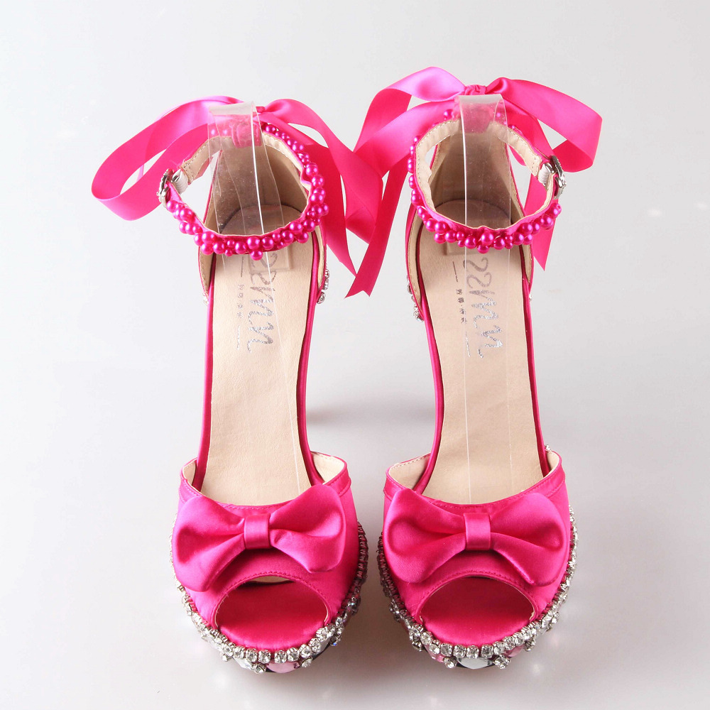 Hot Pink Fuschia Heels