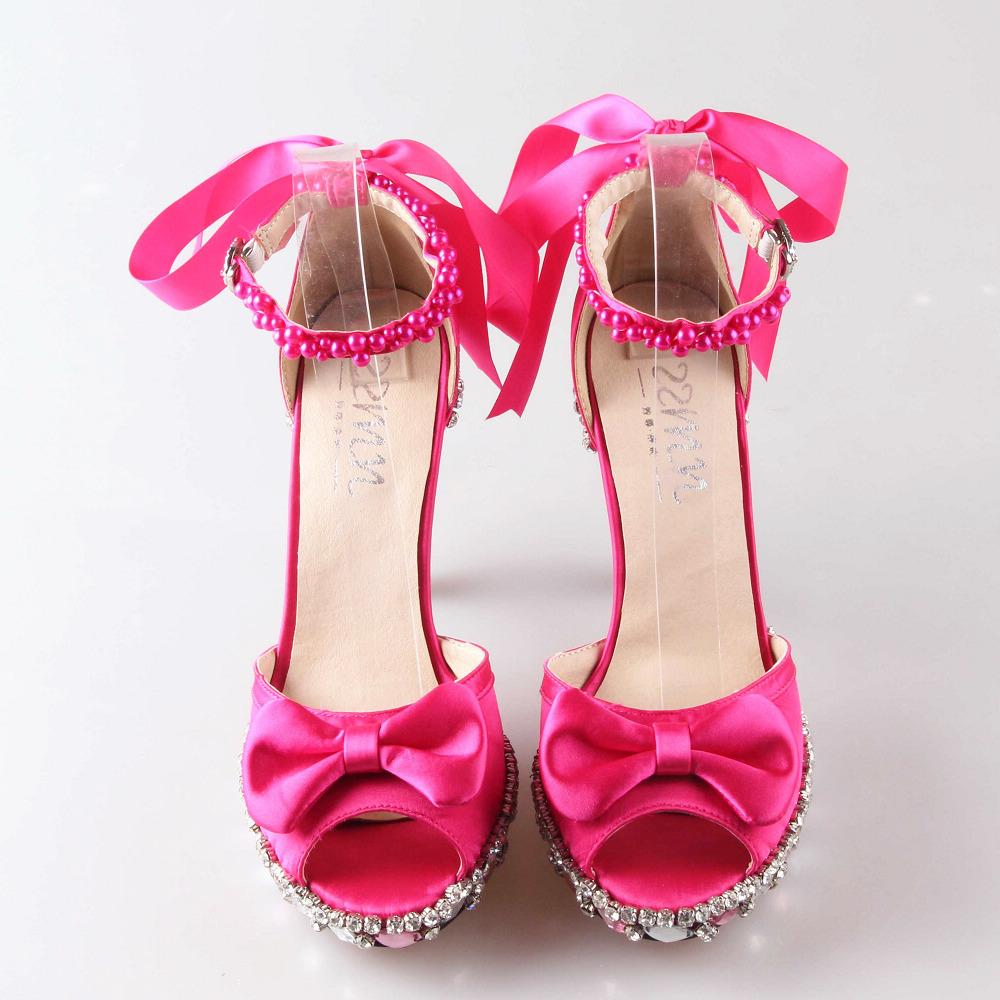 pink fuschia heels is heel