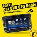 New 7 2din Car DVD for VW GOLF 5 Golf 6 POLO PASSAT CC JETTA TIGUAN