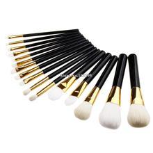 Professional 16Pcs Blending Makeup Brush Kit Professional Cosmetic Goat Hair Brush Set Make up Brushes Tools beauty brush