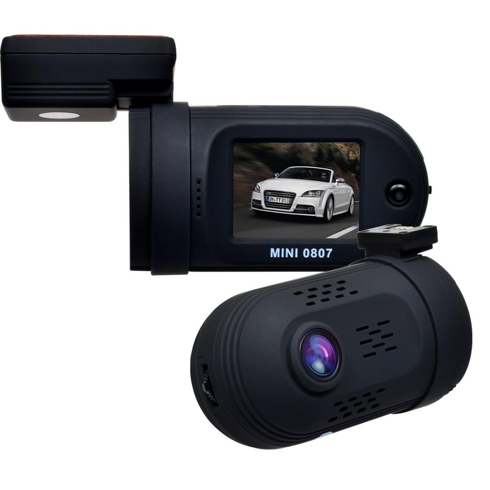 Original Mini 0807 Ambarella A7LA50 Super HD 1296P MIni Car Dash Camera Auto Video Recorder DVR Dual Card Slot With GPS Model(China (Mainland))
