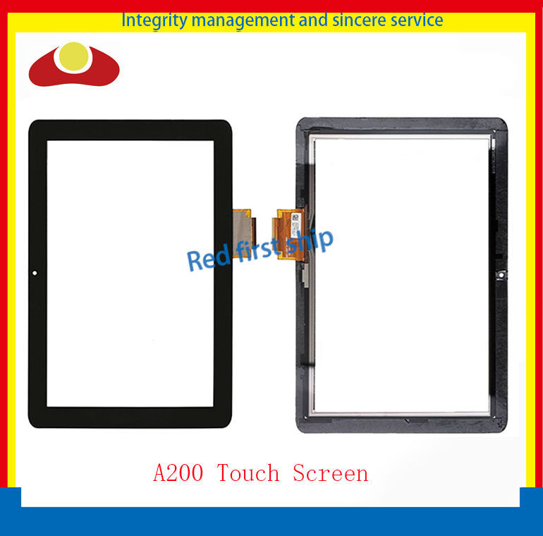 Original For Acer Iconia Tab A200 Tablet Touch Screen Digitizer Panel Front Glass Lens Free Shipping<br><br>Aliexpress