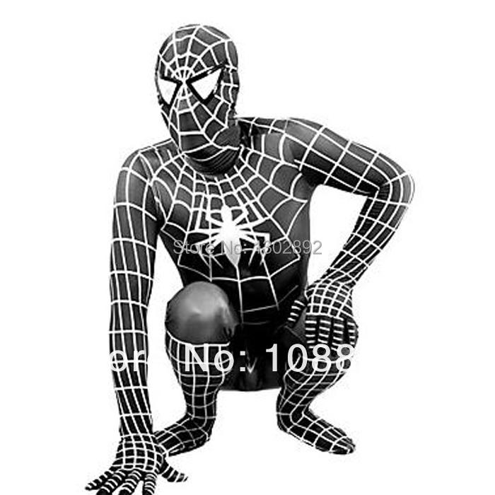 déguisement spiderman adulte noir