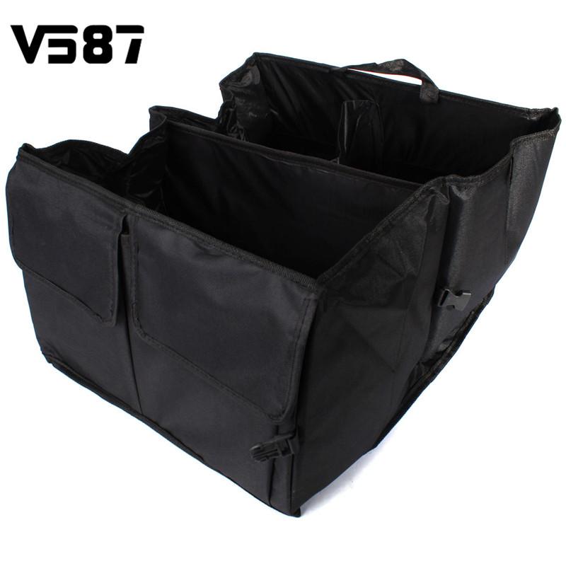 Car Boot Storage Bags Car Convenient Organizer Outdoor Folding Stuff Bag Food Water Space Saving Household Keeping(China (Mainland))