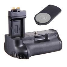 Vertical Battery Grip Pack For Canon EOS BG-E8 550D 600D 650D 700D T4i T3i T2i+ RC-6 Remote