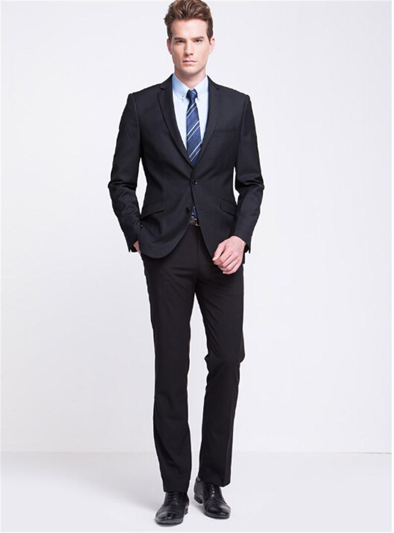Fashion men's bussiness formal suits wedding party suits groom/groomsman formal suits men's three piece suit