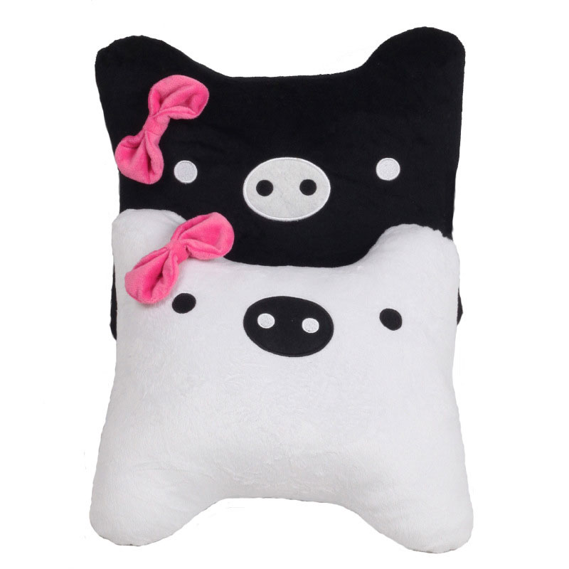 Cute Office Pillow : Cute car waist pillow cushion home cushion Office creative lunch break pillows