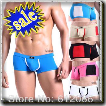 Free Shipping 2013 Summer Hot Swimwear Low Waist Mens Swimwear Sexy Swimsuit  Men's Swimming Truck swim brief SML A02812