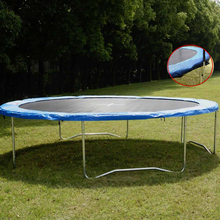 14FT Spring Trampoline Safety Round Frame Pad Cover Replacement Outdoor Trampoline  Blue Pad(China (Mainland))