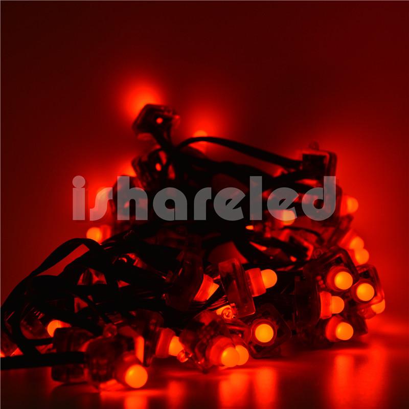50Pcs Full Color T1515 Pixel Addressable WS2801 LED Module String Node 5V IP68 12mm(China (Mainland))