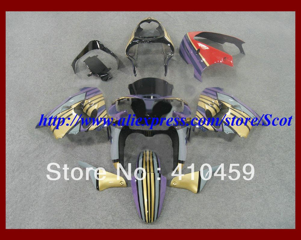 2013 Brand new colorful Fairing kit for KAWASAKI Ninja ZX9R 00 01 ZX 9R 2000 2001 ZX-9R 00-01 2000-2001 body work(China (Mainland))