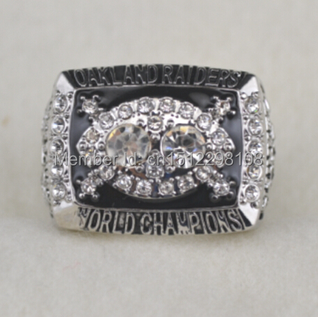 Retro 1980 Oakland Raiders World championship rings size 11 - Fans for sale store