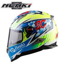 Мотоциклетный шлем NENKI мотоциклетный шлем мотоцикл полный шлем гоночный шлем для мотокросса мотоциклетный шлем(China)