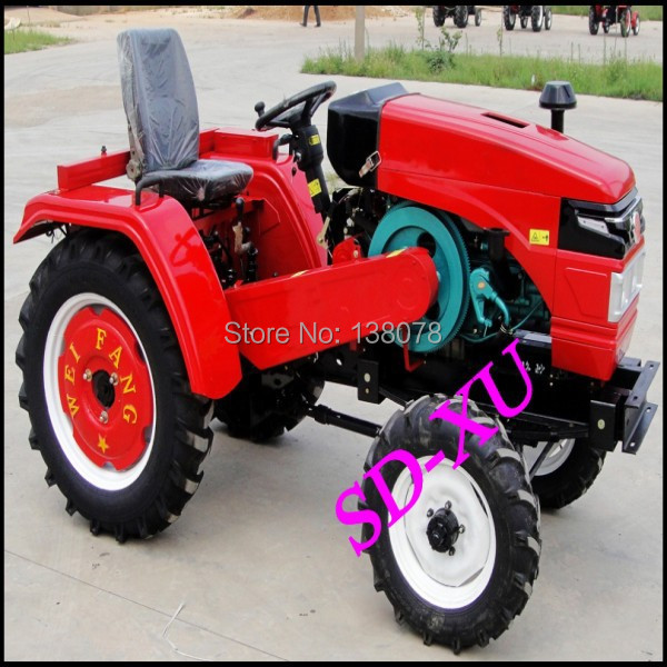 China manufacture mini tractor backhoe loader /hydraulic log splitter for tractor / farm tractor price(China (Mainland))