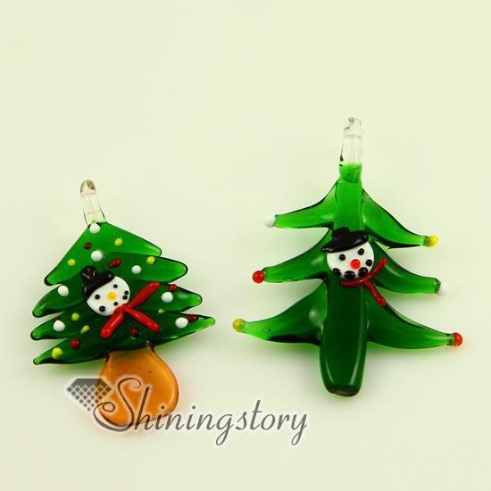 Christmas tree italian venetian lampwork blown murano - Murano glass christmas tree ...