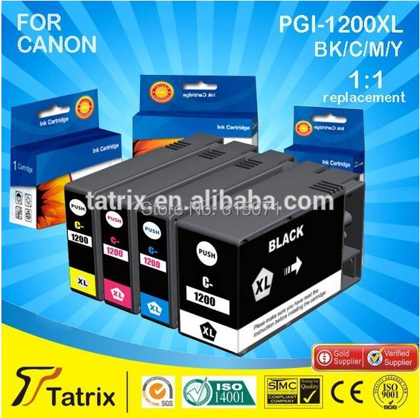 Newest CanonInk MAXIFY PGI-1200 XL Black ink Tank chip Factory price , 2 years warranty  -  Tatrix International China Co., Ltd. store