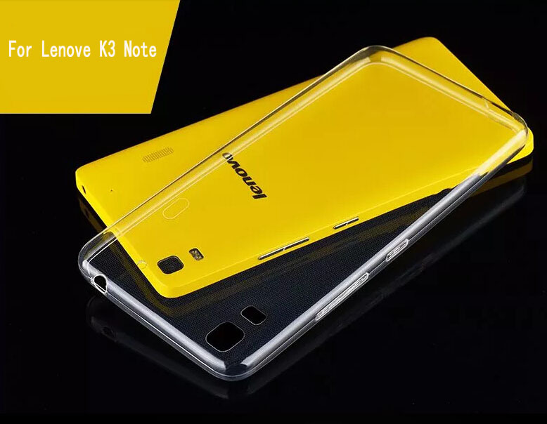 For Lenove K3 Note 2015 New Ultra-thin Clear Transparent TPU Case for lenove lemon k3 note Mobile Phone case(China (Mainland))