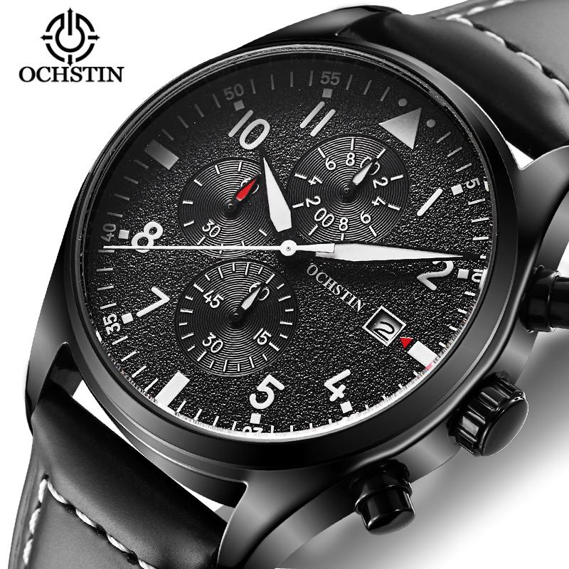 Men Watch Men's Casual Brand Sport Watches Quartz Waterproof Leather Strap Chronograph Hour Clock Antique Business Fashion Watch(China (Mainland))