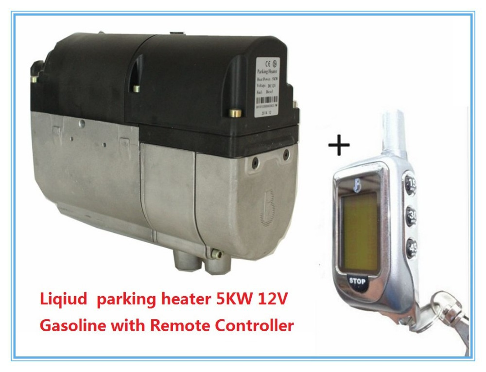 Car Liqiud Water parking heater 5KW 12V Gasoline with Remote Controller similar webasto(not Webasto)with Timer control(China (Mainland))